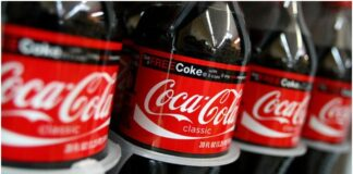 Coca-Cola bottles via Twitter