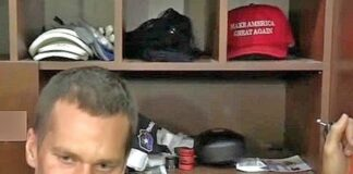 Tom Brady and his MAGA hat