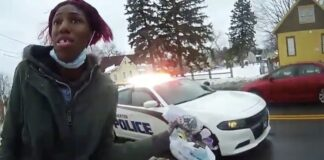 Rochester PD pepper sprays suspected shoplifter