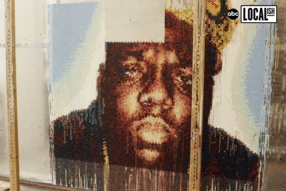 Notorious B.I.G. in Bubble Wrap