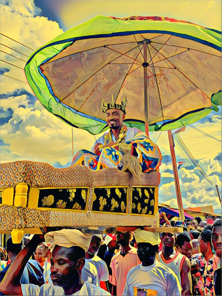 King YAHWEH in Ghana