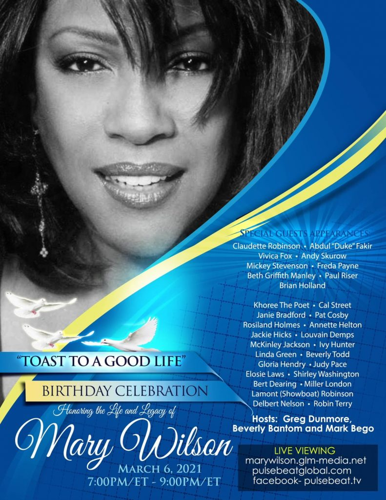 Mary Wilson tribute