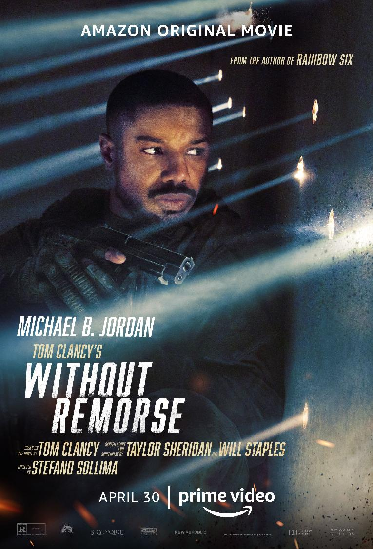 Michael B Jordan - Tom Clancy's Without Remorse - poster