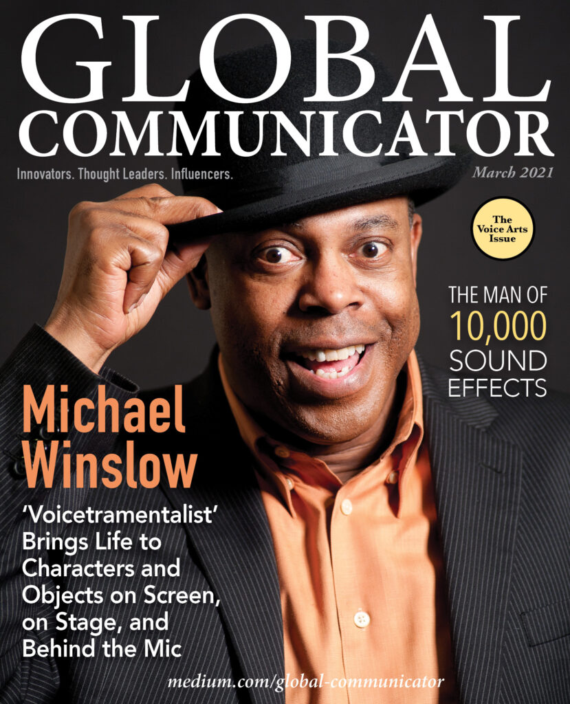 Michael Winslow_March_Global communicator covers