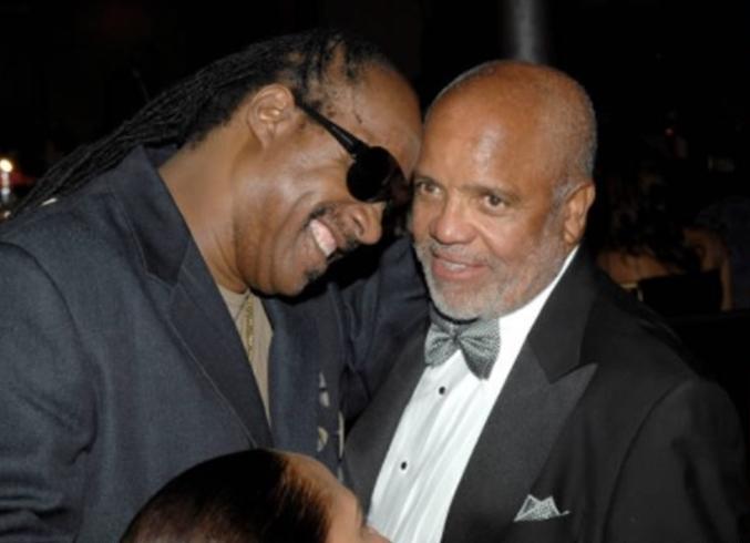 Stevie Wonder - Berry Gordy (Getty)