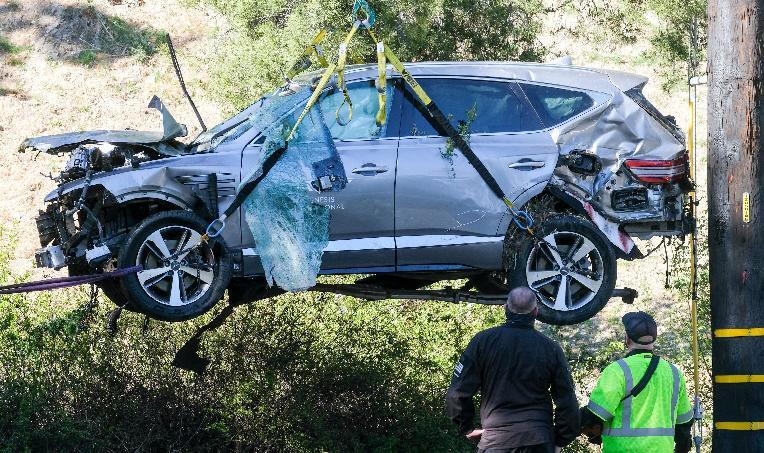 Tiger Woods crashed SUV