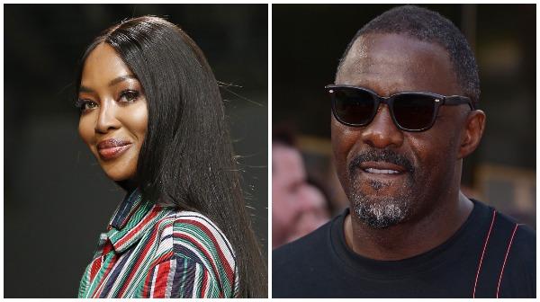 Idris Elba, Naomi Campbell