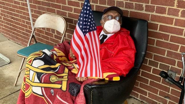 tuskegee airman turns 95