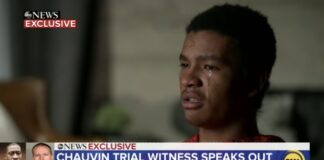 Christopher Martin, 19, speaks to ABC News