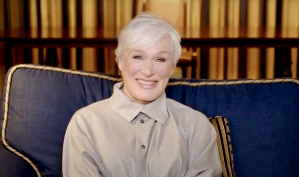 Glenn Close on Extra