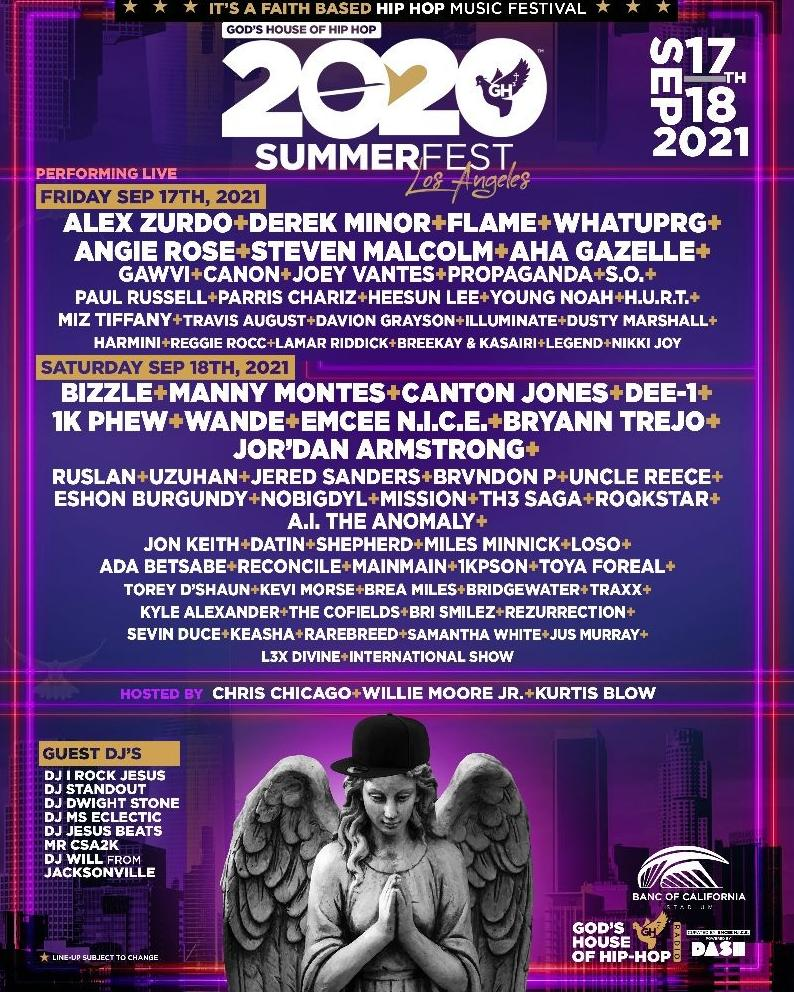 God's House of Hip Hop - Summerfest