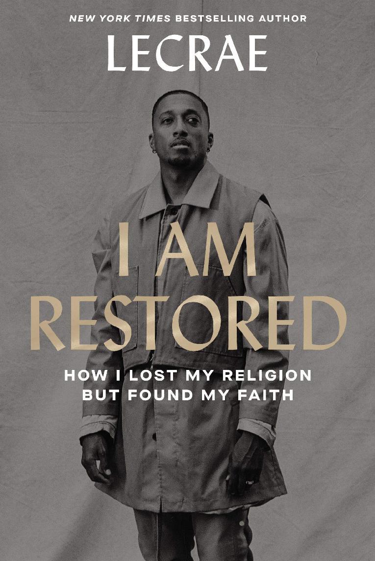 Lecrae - I Am Restored - book cover