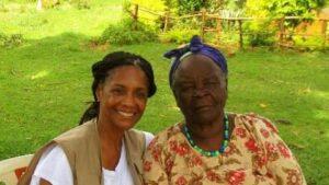 Margaret Avery and Mama Sarah