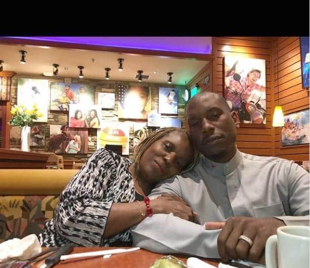 Tyrese Gibson & mother (Instagram)