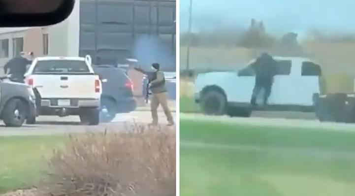 WHITE guy in Minnesota drags police & lives