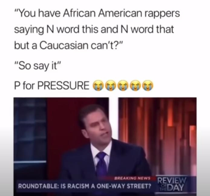 White anchor wants to say the n-word