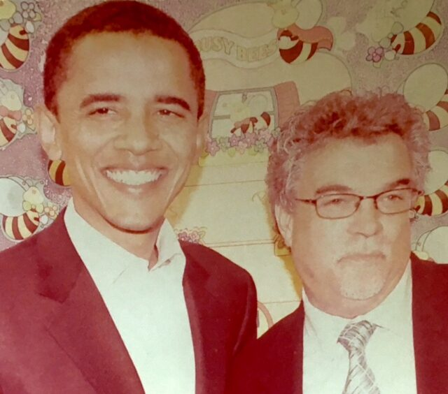 albert lord + barack obama circa 2007