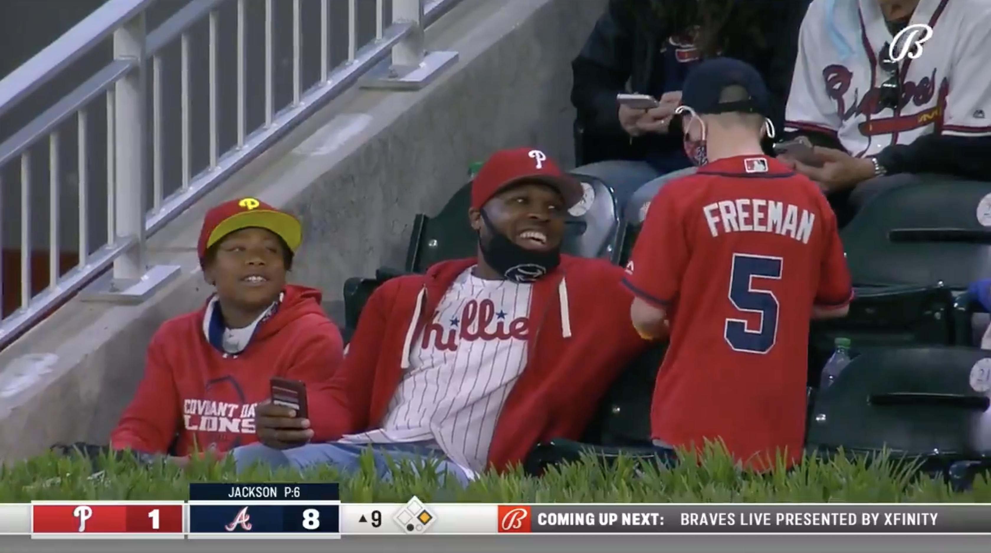 freeman home run ball