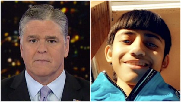 EURwebSean Hannity Catches Heat for Calling Seventh-grader Adam Toledo a '13-Year-Old Man'
