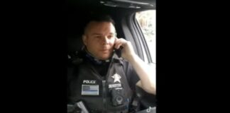 Idaho cop Nate Silvester