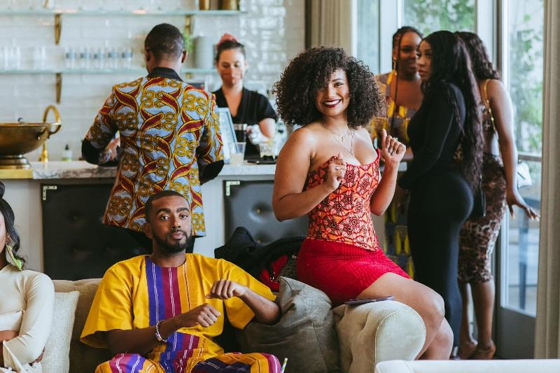 Amplify Africa - Afro Ball 2021 hosts Etienne Maurice and René Daniella