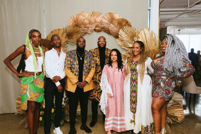 Amplify Africa - The Amplify Africa team (l-r) Bose Erinmwingbovo, Shean England, Dami Kujembola, Timi Adeyeba,