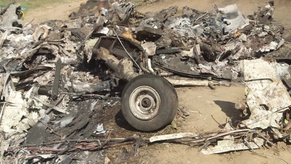 Kobe Helicopter Crash Site