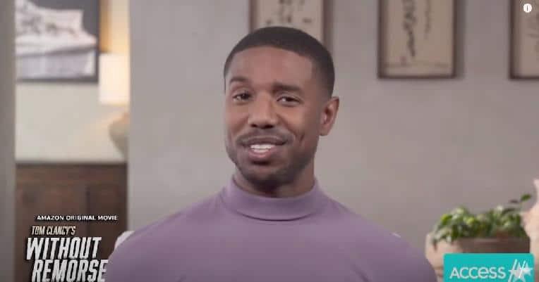 Michael B Jordan - smile - screenshot