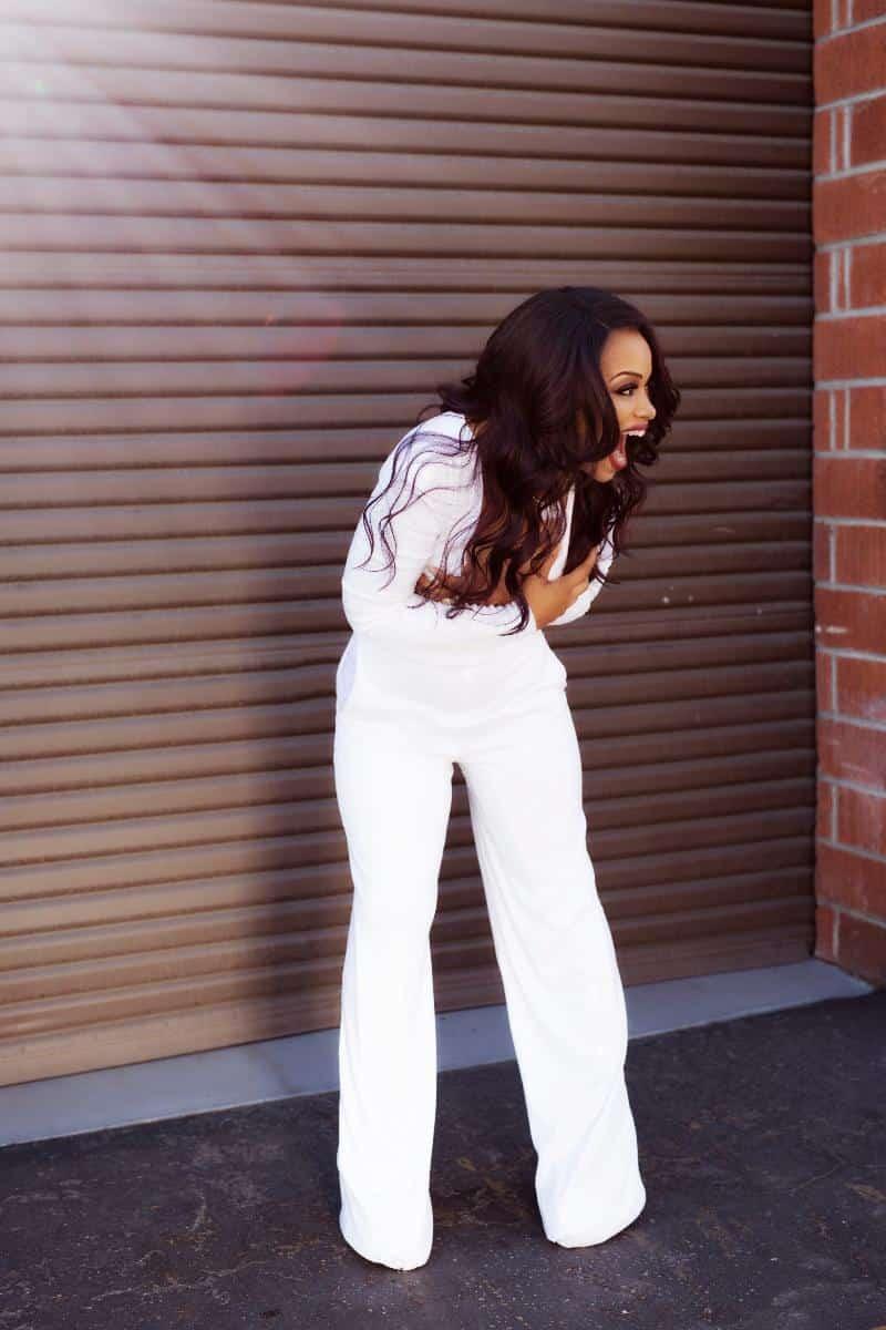 Rhonda Morman in white