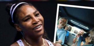 Serena Williams & family
