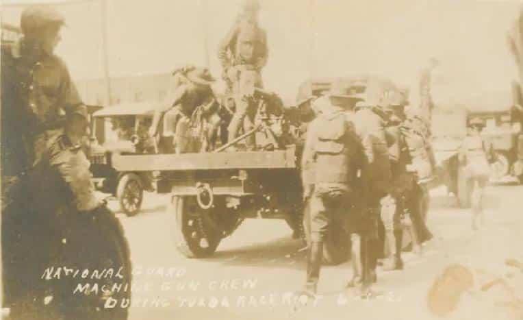 Tulsa Race Massacre survivor - troops in Tulsa