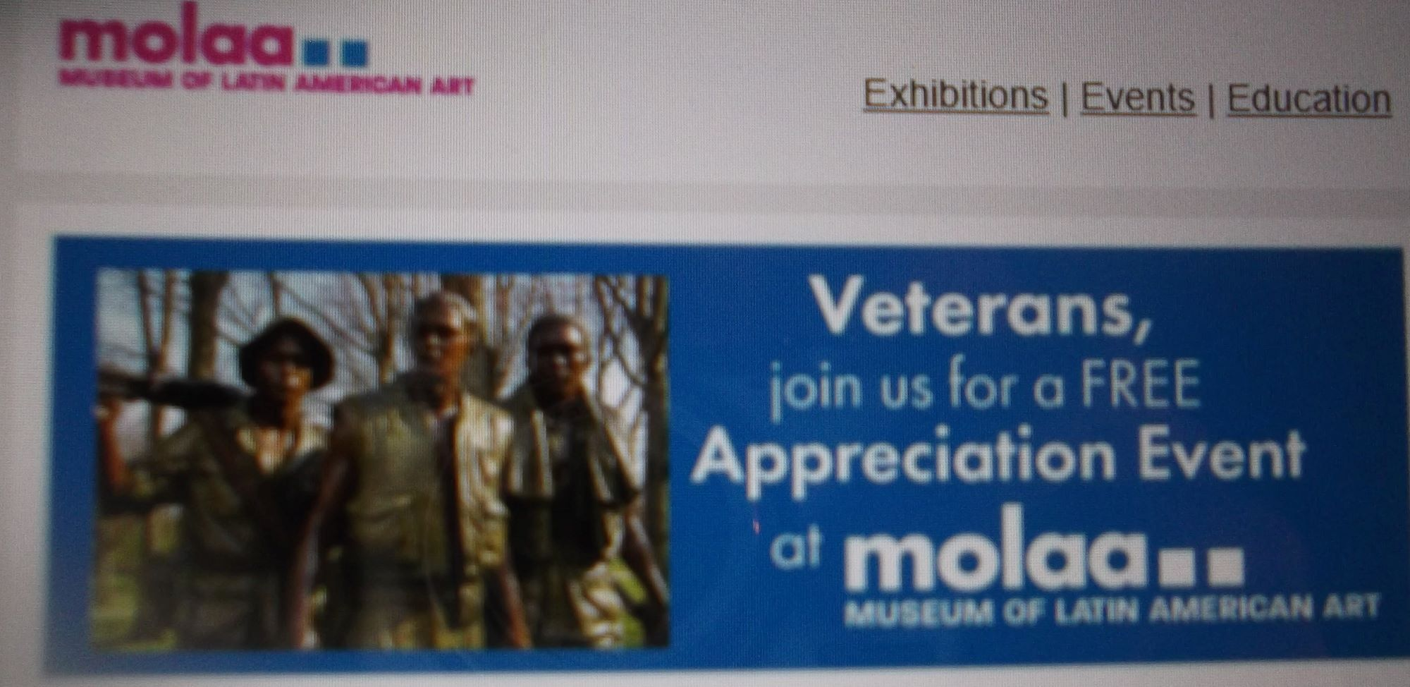 Veterans Celebration at MOLAA