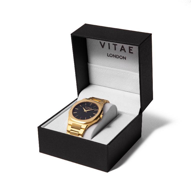 Vitae - Ada Midnight Watch - Gold - 42m-3