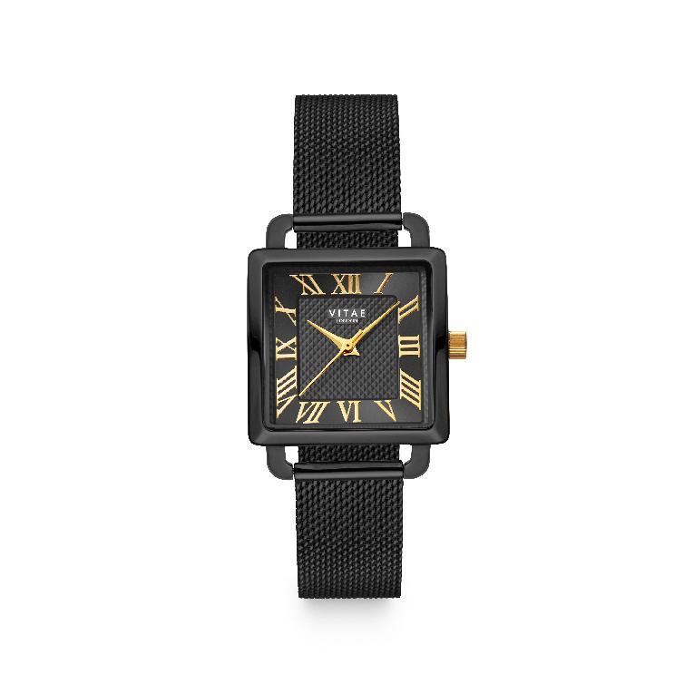 Vitae - Ilesha Petite Watch Midnight x Gold-1