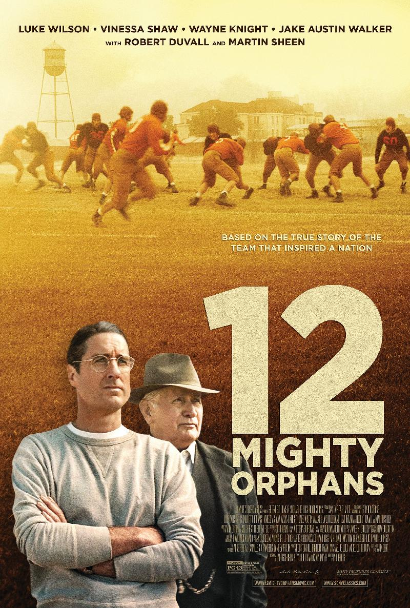12 Mighty Orphans - poster