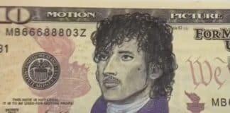 Prince drawn on $10 bill