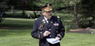Army Lt. Col. Barnard Kemter