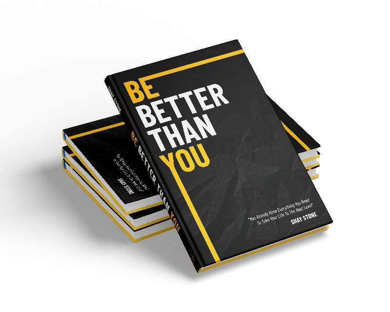 Be Better Than You book mockup (cover)