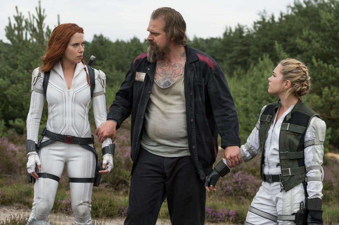 Scarlett Johansson, David Harbour, Florence Pugh, Black Widow