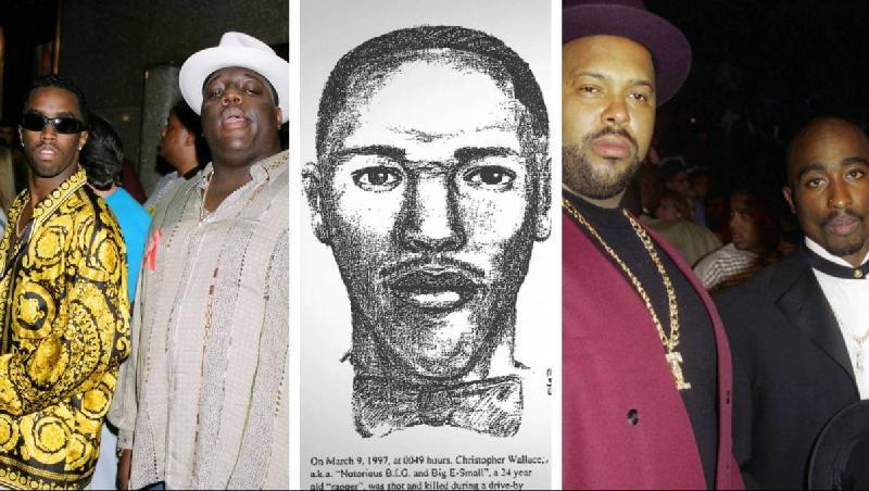 Diddy & Biggie - Suge & Tupac (Filmmagic-Getty)