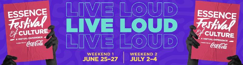 Essence live loud - banner