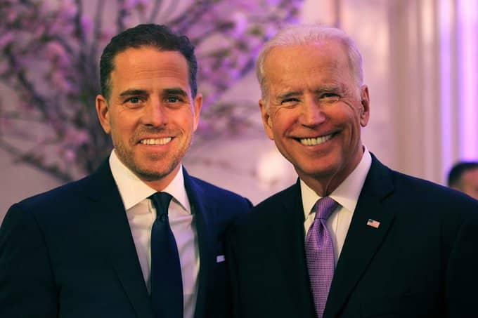 Hunter Biden, Joe Biden via Twitter