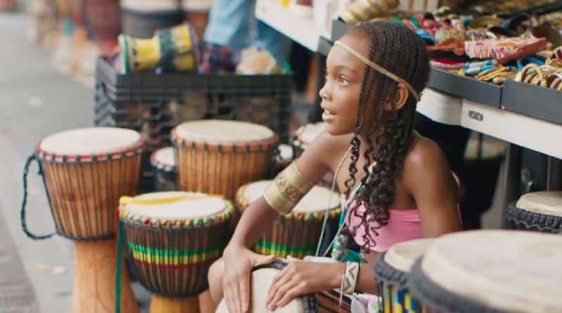 Intl Black Heritage - girl playing drum