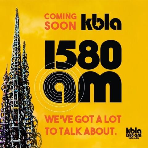 KBLA 1580 promo