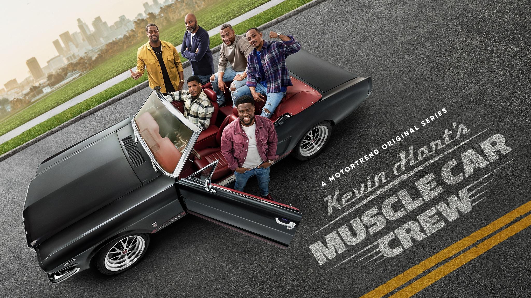 Kevin Hart's Muscle Car Crew - MT Original Series - Key Art