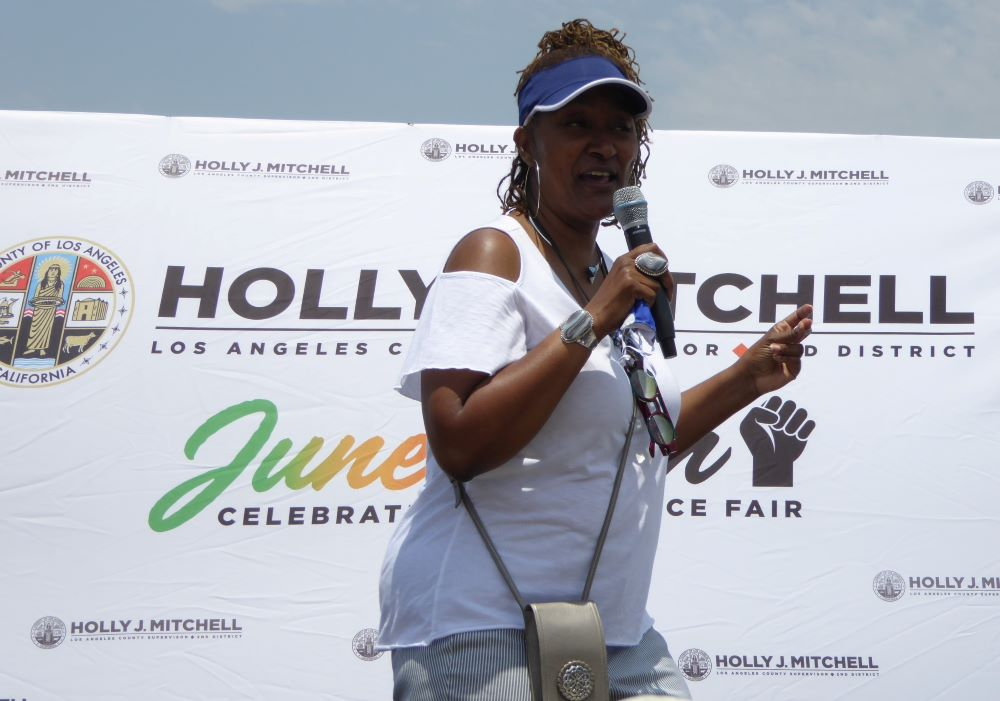 Los Angeles County Supervisor Holly Mitchell