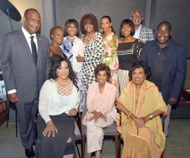 Marla Gibbs B-day party (large group)