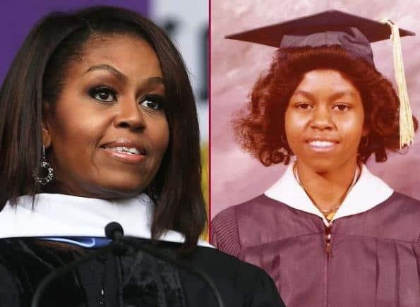Michelle Obama - graduation pic