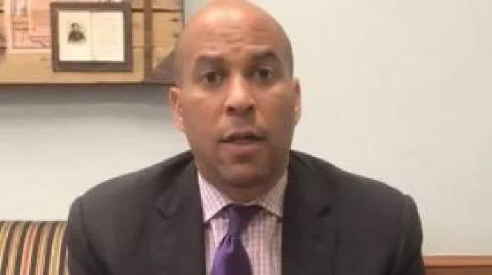 NJ Senator Cory Booker