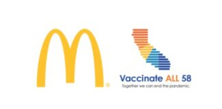 California Partners with McDonald's Franchisees Across the State for COVID-19 Vaccine Pop-Up Clinics
